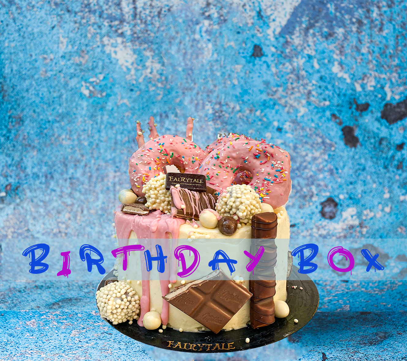 Pinkie Donut Birthday Box