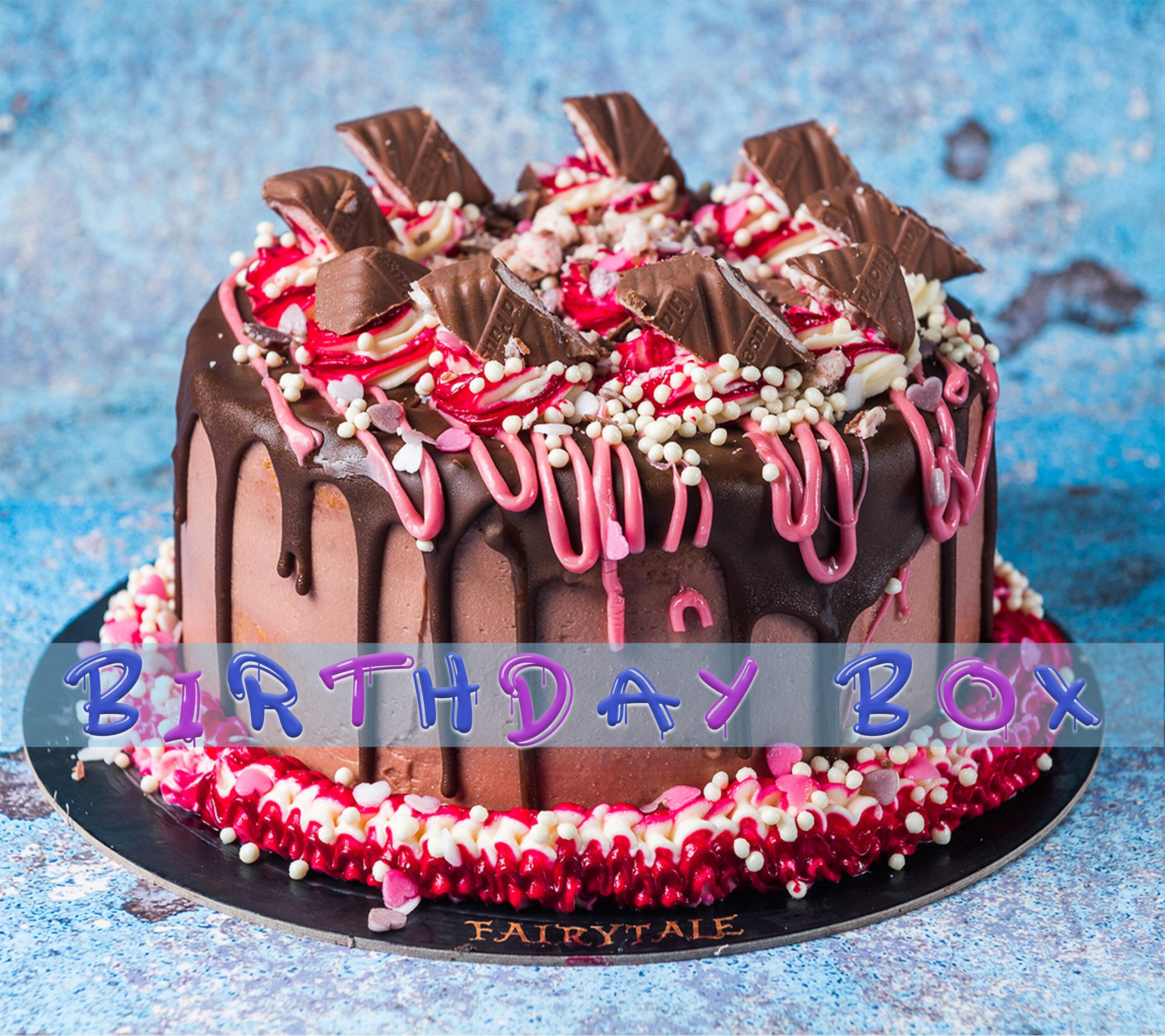 Lila Pause Birthday Box