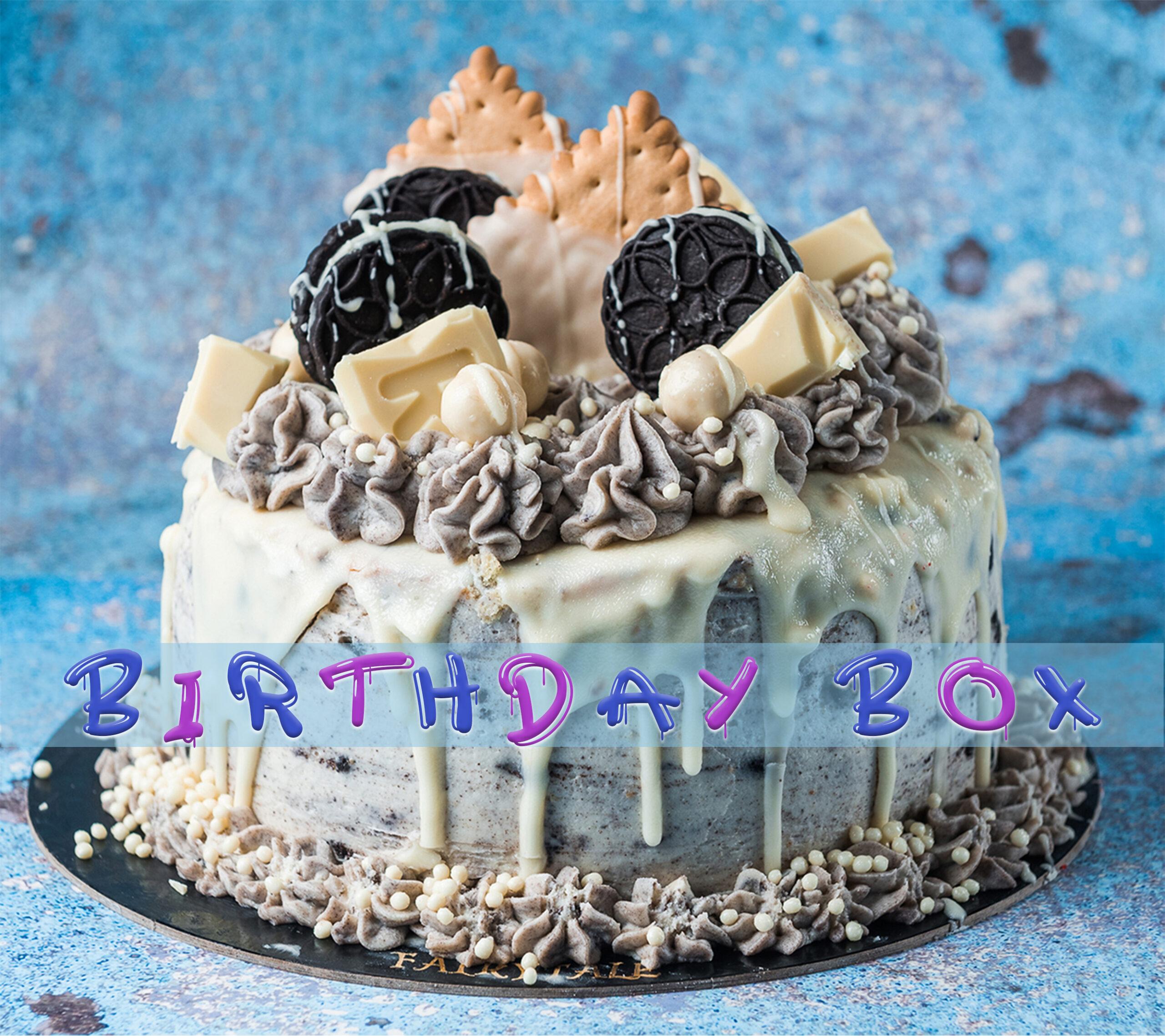 Oreo Cookies Birthday Box