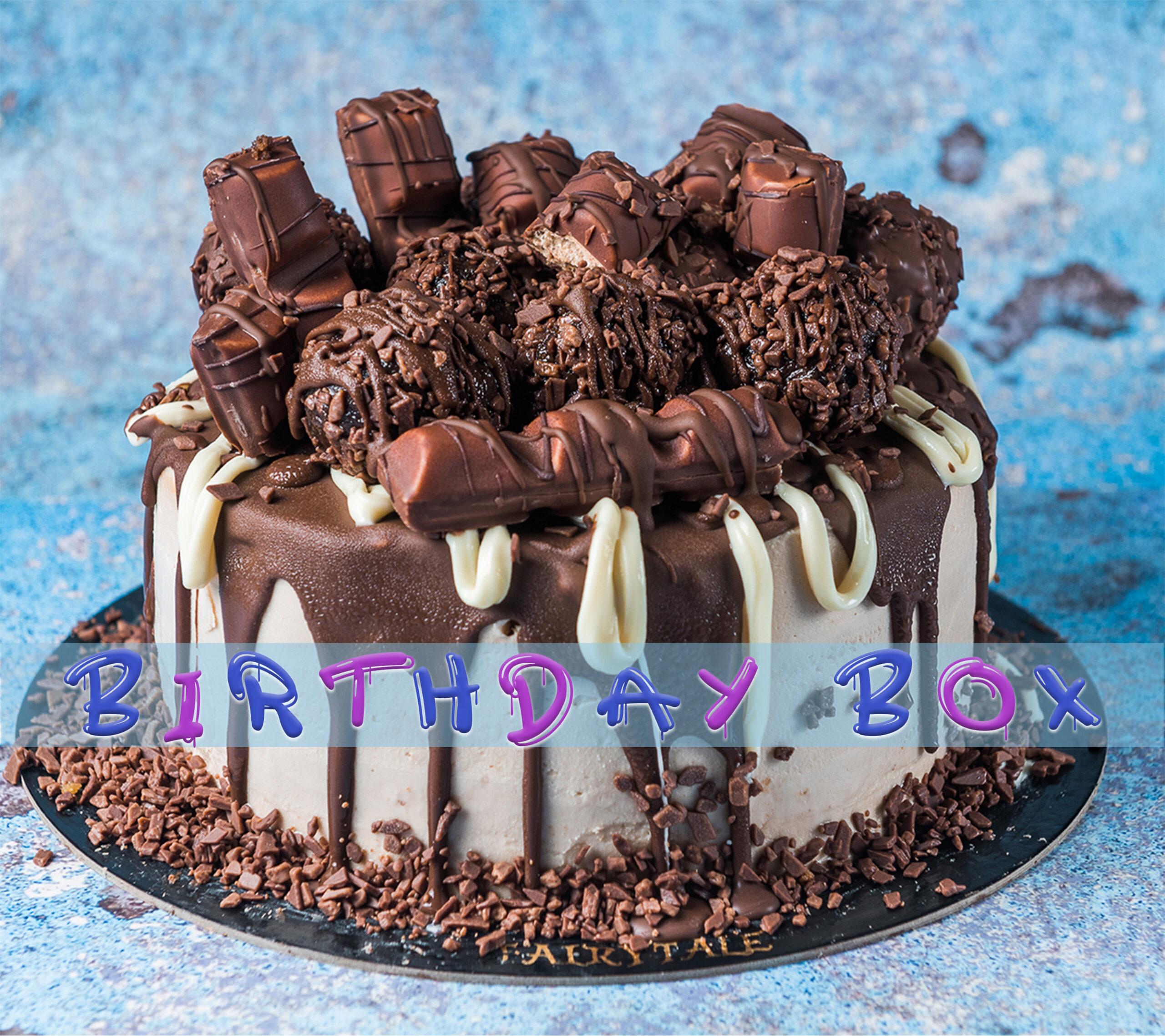 Bueno Praline Truffle Birthday Box