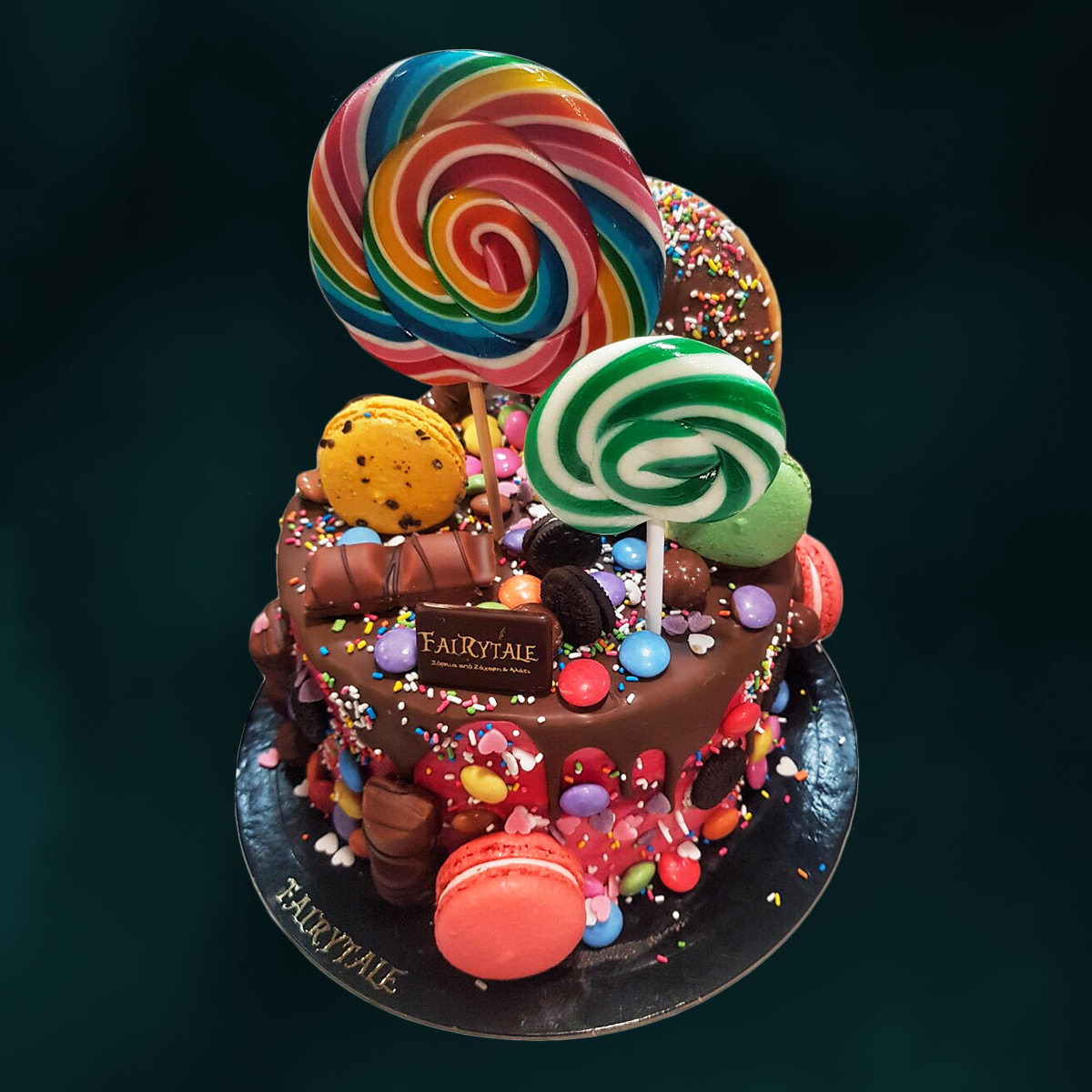 Donut Bueno Cake